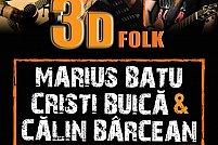Concert Marius Batu, Cristi Buica & Calin Barcean