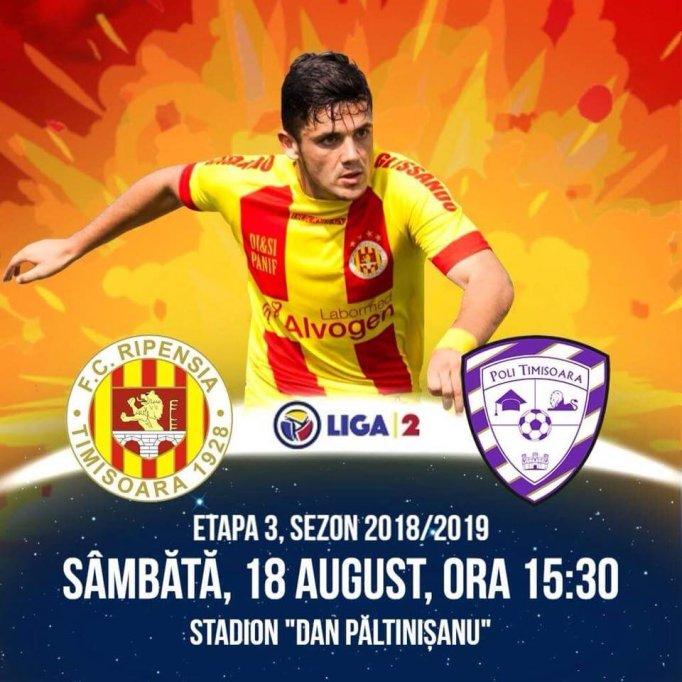 FC Ripensia - ACS Poli Timisoara