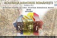 """Academia Memoriei Românești - """"Oameni, fapte și idei pentru România Mare"""""""