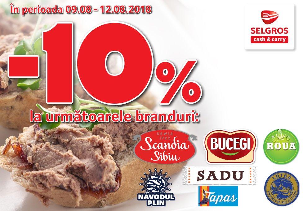 Reducere 10% la Scandia Sibiu, Bucegi, Roua, Sadu, Lotka, Năvodul Plin şi Tapas