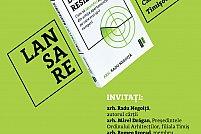 """Lansarea cărții """"Disconfort Residence"""" de arh. Radu Negoiță"""