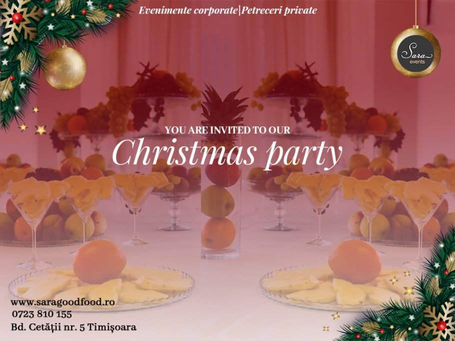 Sala de evenimente pentru Christmas Party