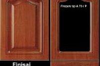 Front mobila din MDF infoliat finisaj antichizat, frezare A