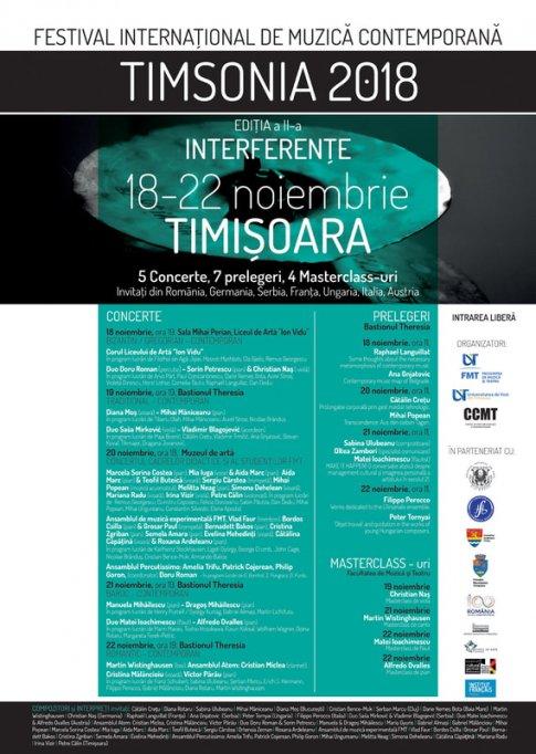 Festivalul International de muzica contemporana Timsonia