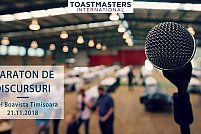 Timisoara Toastmasters - Maraton de discursuri 2018