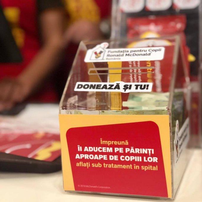 De 20 de ani, Fundația pentru Copii Ronald McDonald ține familiile din România împreună