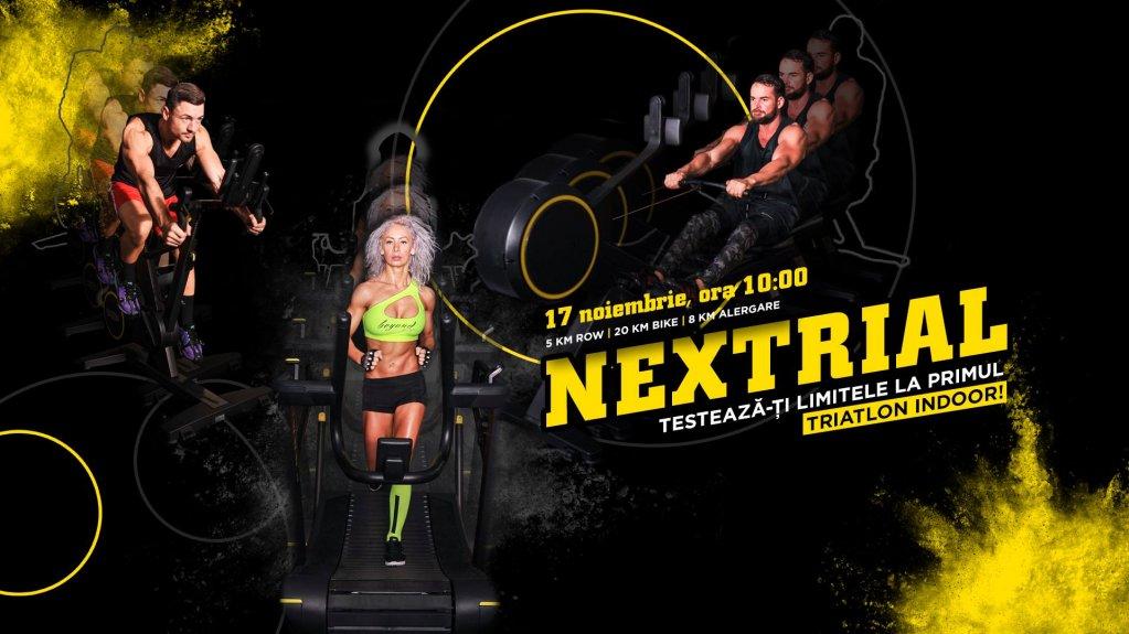Nextrial - Primul triatlon indoor la Nextfit