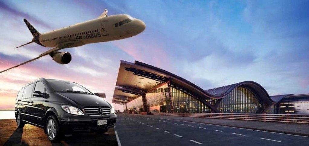 Transferul la aeroport al angajaților care pleacă în delegații