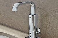 Accesorii baie: baterie pentru lavoar cu senzor, dispenser pentru sapun cu senzor si multe altele