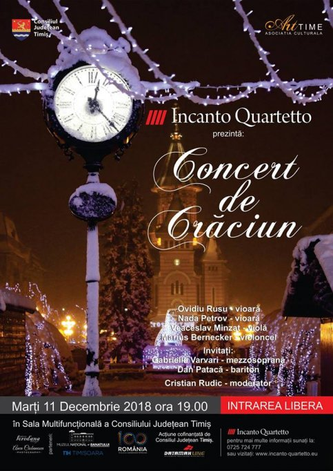 Concert de Craciun Incanto Quartetto