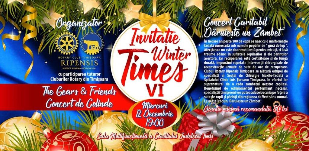 Winter Times - concert caritabil