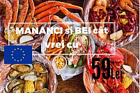 Festivalul European - All You can Eat Seafood, Drink & Dance