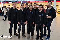 Elevii echipei heRObotics din Timișoara programează roboți aflați la bordul Stației Spațiale Internaționale