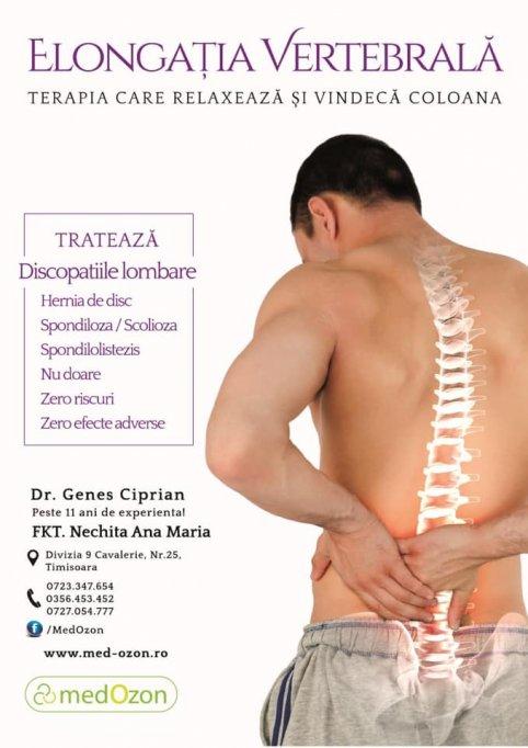 Fiziokinetoterapie si recupera medical la Clinica MedOzon Timisoara