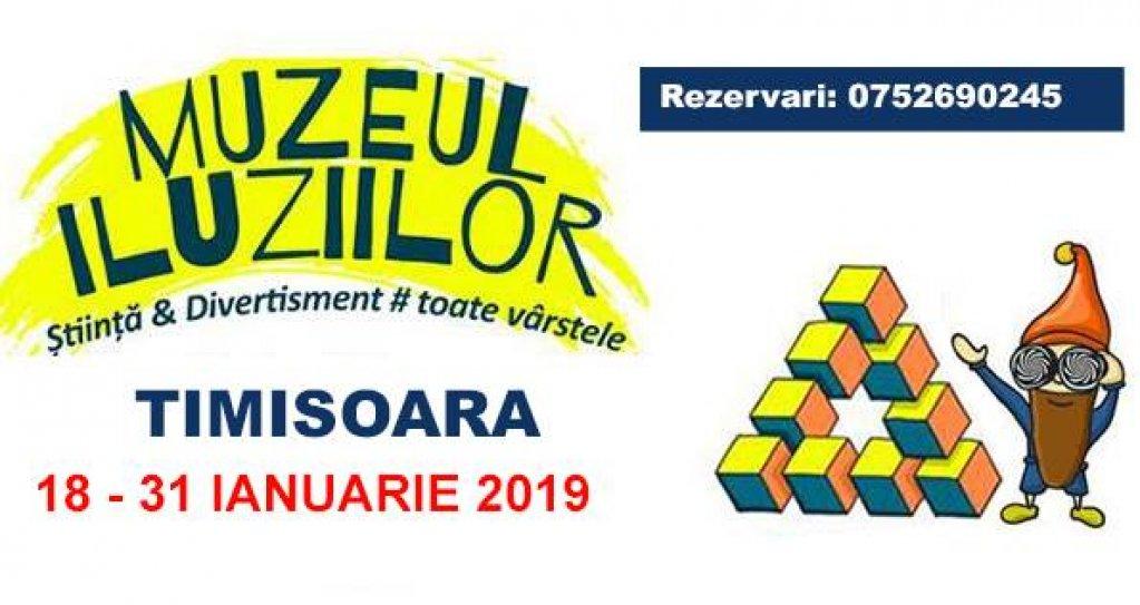 Muzeul Iluziilor pentru prima oara la Timisoara