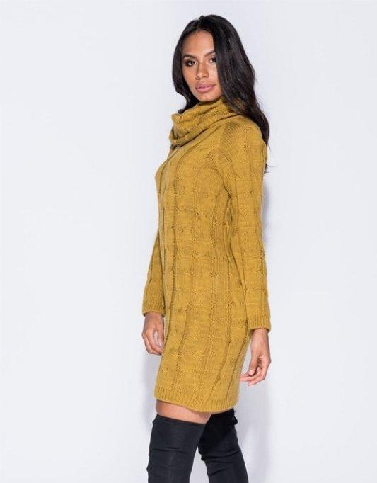 Modele de rochii tricotate care nu trebuie sa lipseasca din garderoba unei femei