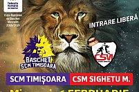 Baschet SCM Timisoara - CSM Sighetu Marmatiei