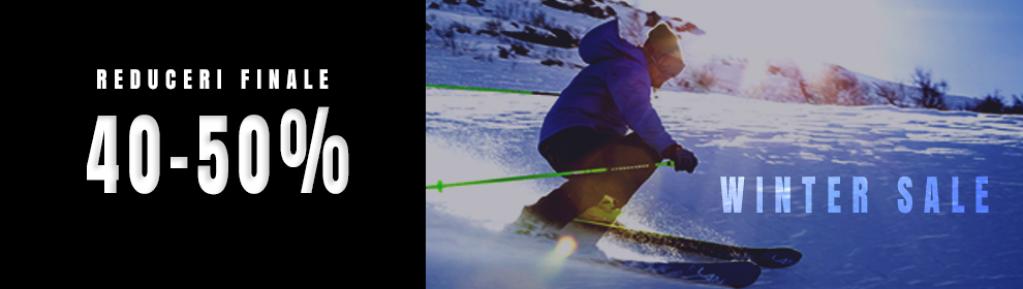 Oferte la echipament de ski