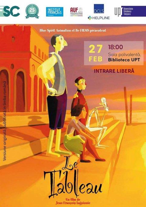 Seara filmului francez la Sala Polivalentă a BUPT