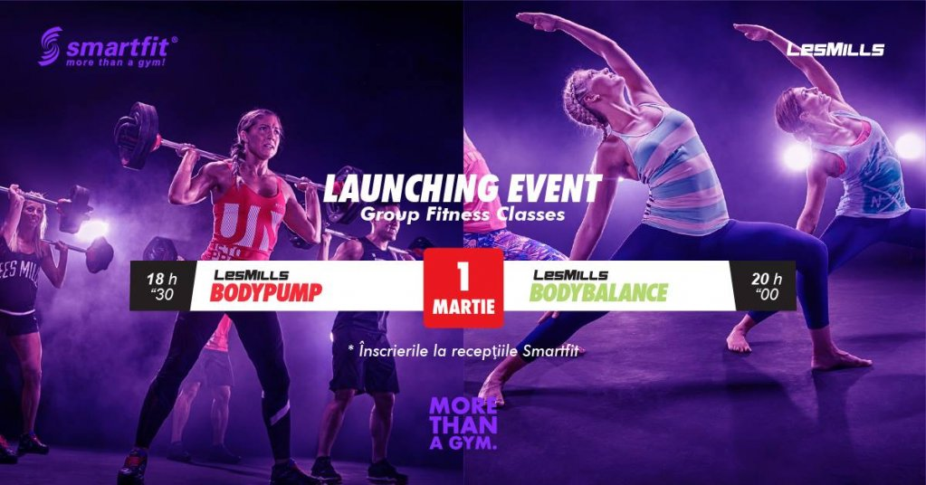 Les Mills programs - launching event