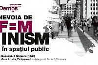Nevoia de feminism in spatiul public