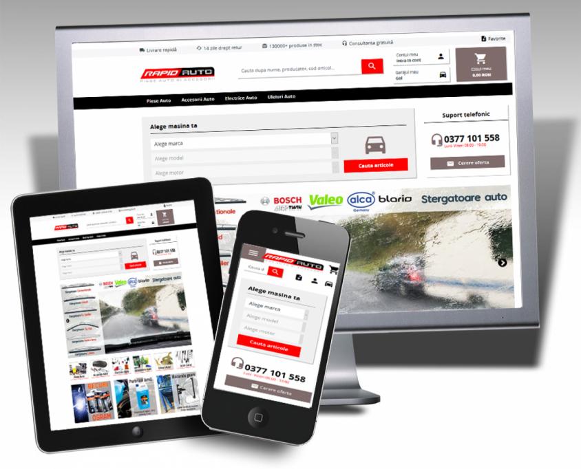 O noua tehnologie online in identificarea pieselor auto!