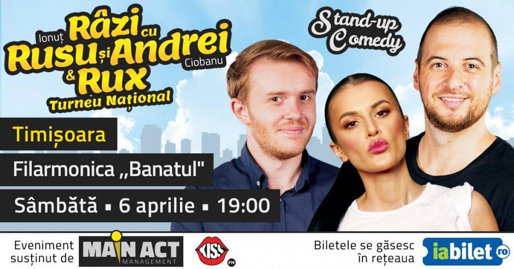 """Turneul National """"Razi cu Rusu si Andrei & RUX"""""""