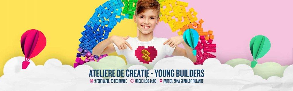 Young Builders - Atelier de creație pentru copii