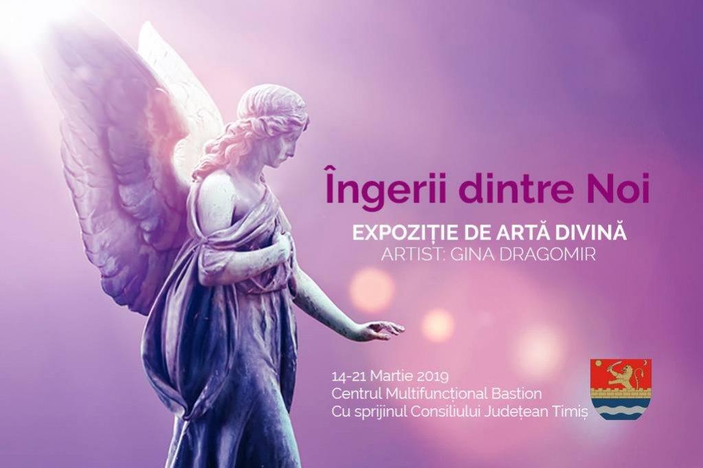 Ingerii dintre Noi - Expozitie de pictura Gina Dragomir