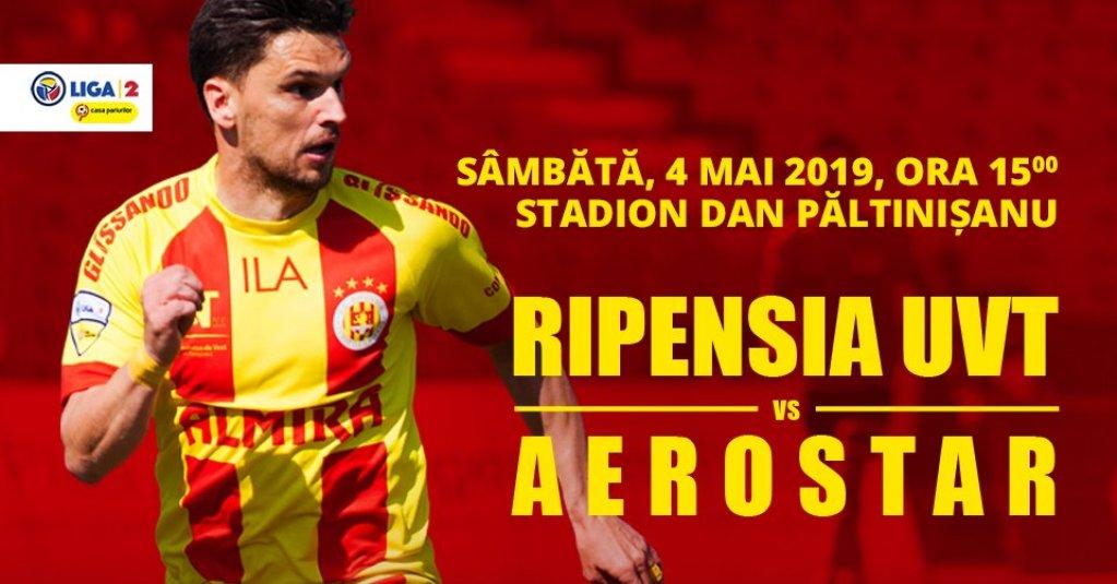 FC Ripensia - Aerostar Bacau