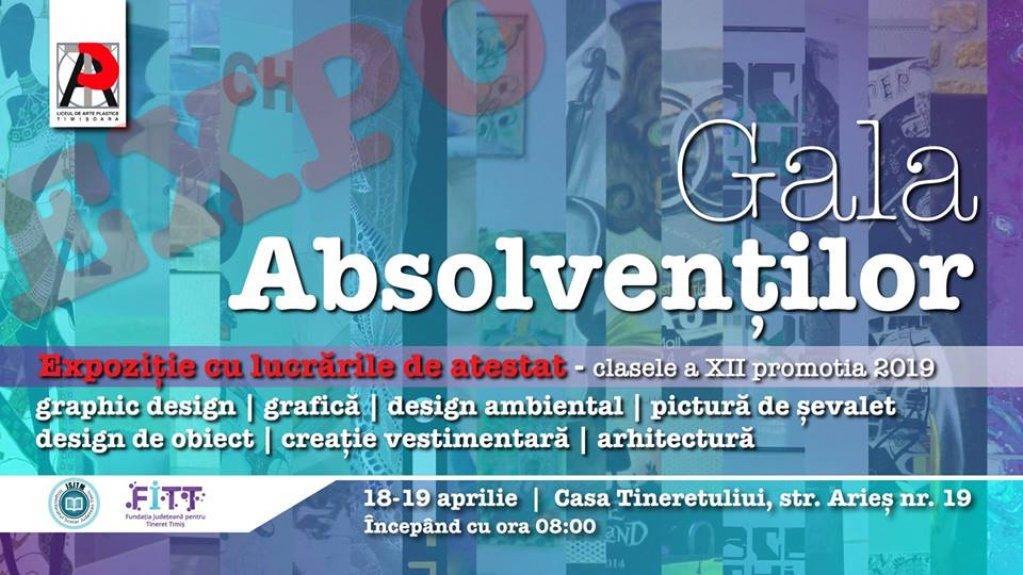 Gala Absolventilor Liceului de Arte Plastice Timisoara