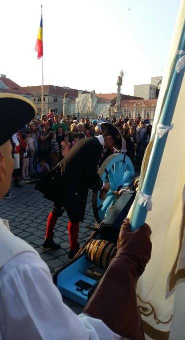 Calatoria in trecut este posibila de acum la Timisoara