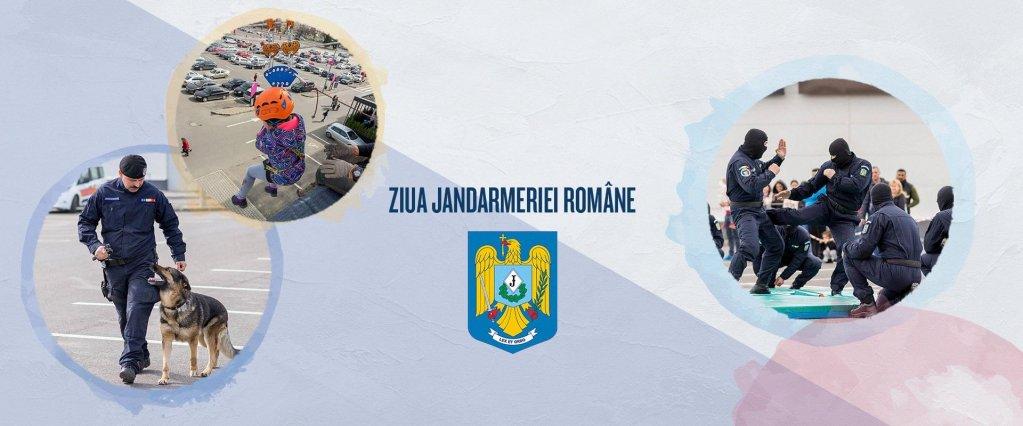 Ziua Jandarmeriei romane sarbatorita la Shopping City Timisoara