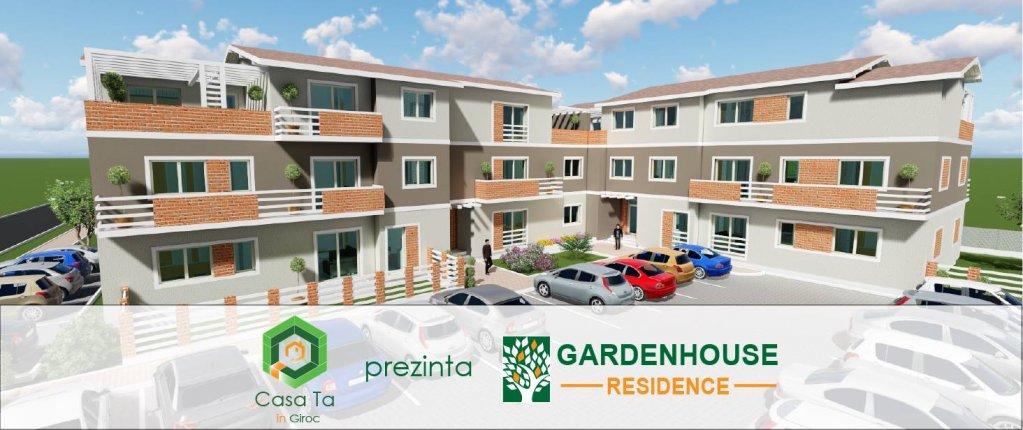 GARDENHOUSE: Complex rezidential de apartamente in Giroc