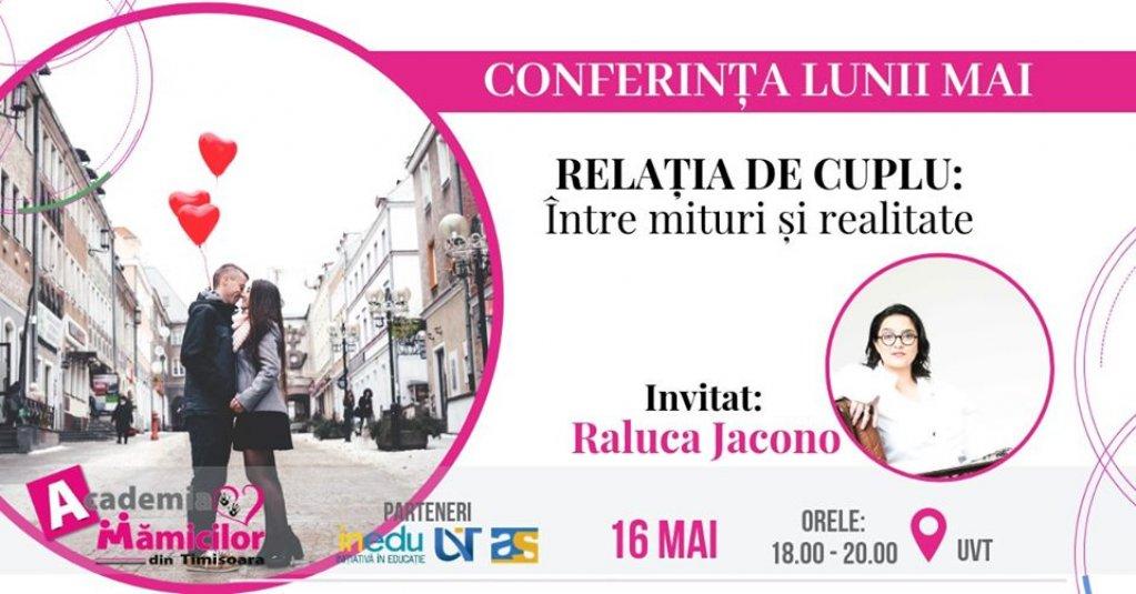 Conferință - Relația de cuplu: între mituri și realitate