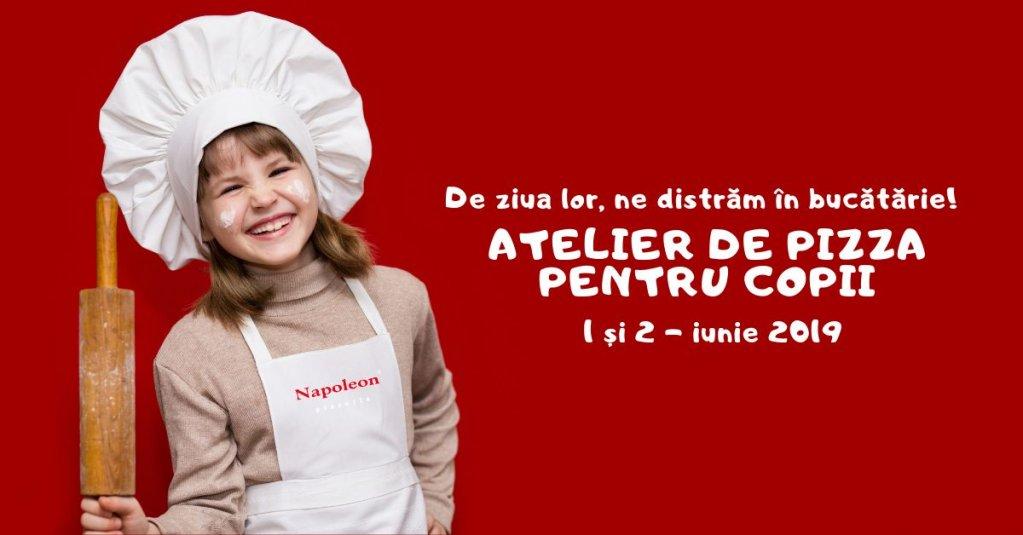 Weekendul Copiilor - Atelier de Pizza pentru Copii