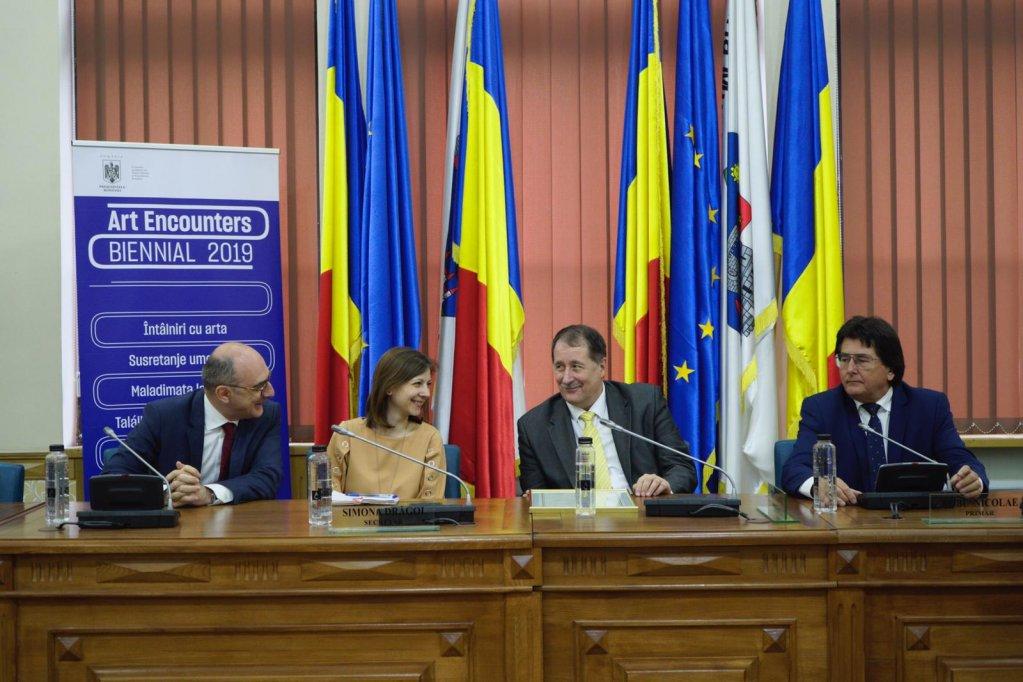 Acordarea Înaltului Patronaj al Președintelui României pentru Bienala Art Encounters 2019