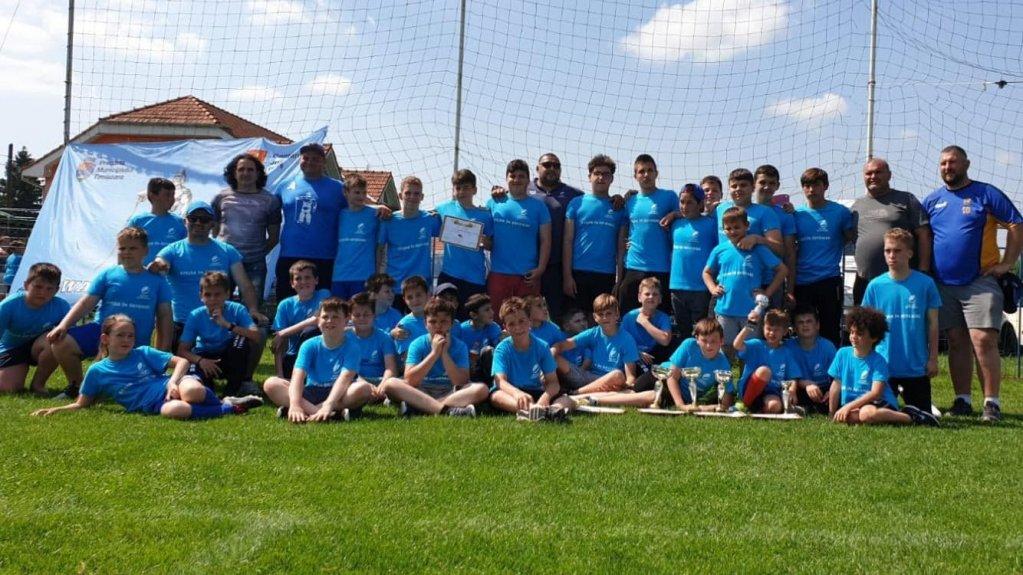 Campioni Regionali Transilvania Sud la U8 si U12 si vicecampioni la U10 si U14 7's!
