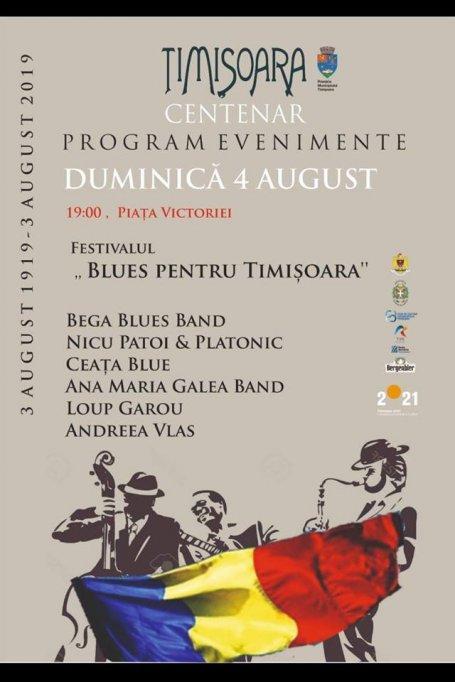 Blues pentru Timisoara 2019