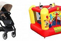 Carucioare si saltele gonflabile - articole practice si o bucurie pentru cei mici, de la Alinut