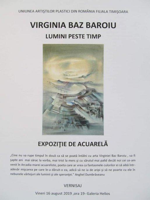 Expozitia Lumini peste timp - Virginia Baz Baroiu