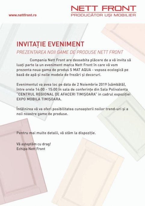Protege Parol va invita la evenimentul marca Nett Front