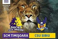 BC SCM Timisoara - CSU Sibiu
