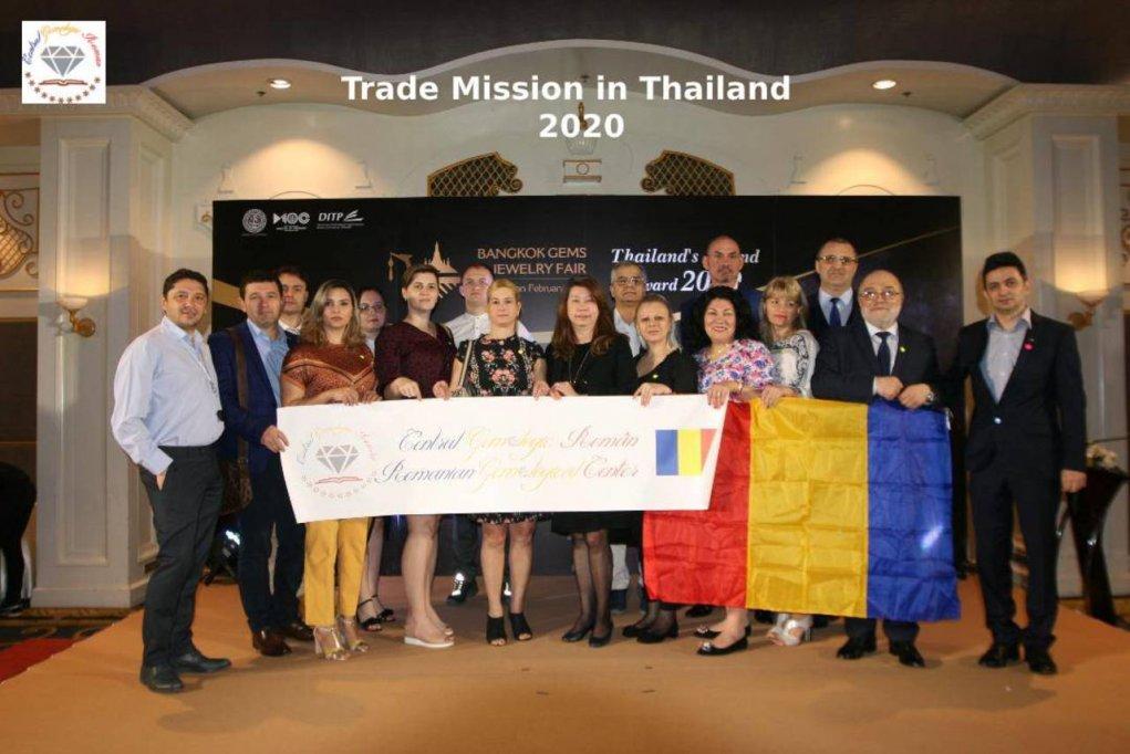 Misiune gemologica de studiu si cercetare a pietrelor pretioase - Thailanda 2020