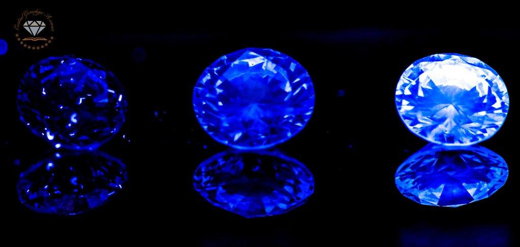 Fluorescenta diamantelor