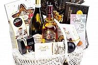 Variante de coșuri cadou de Crăciun propuse de un magazin online specializat în cadouri gourmet