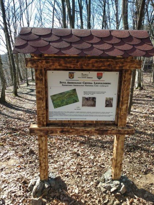 Un nou reper turistic - situl arheologic Crivina - Leopoldsberg
