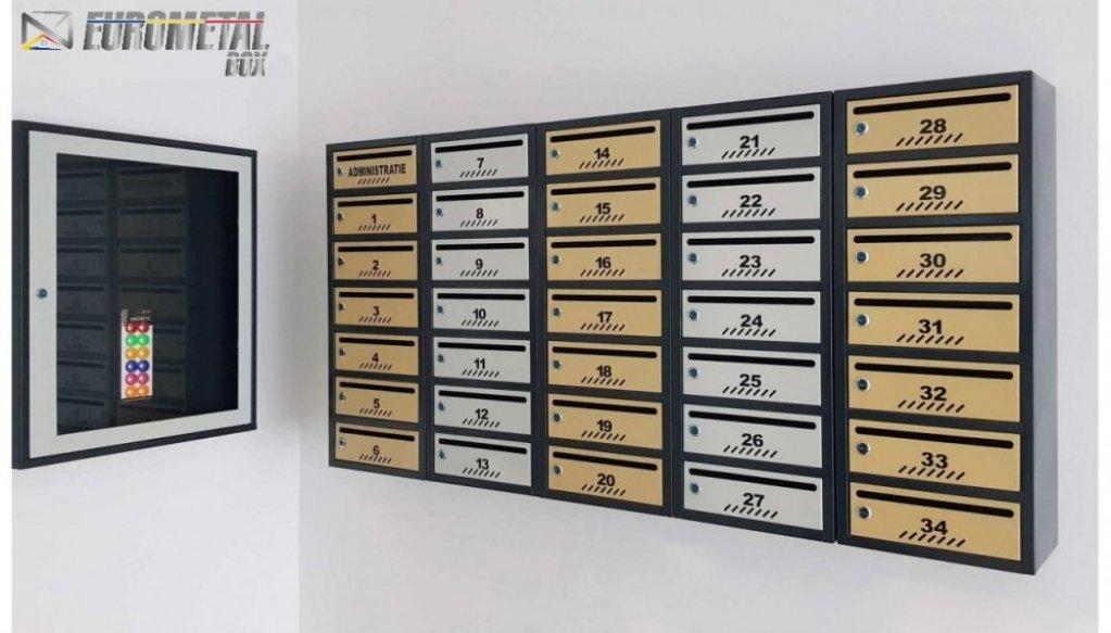 Eurometal Box - cutii postale in tendinte, rezistente si calitative