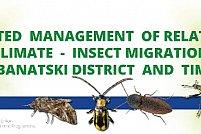 Sistemul integrat pentru supravegherea în timp real a migrației insectelor în aria transfrontalieră RO-RS este operaționalizat