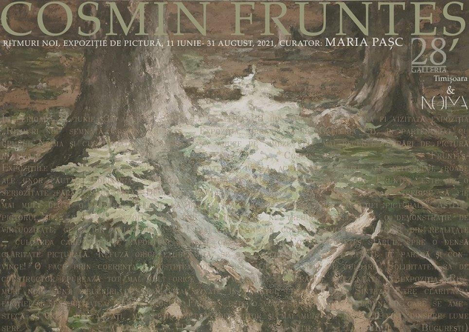 Expoziție de pictură Cosmin Frunteș
